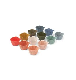 Liewood Jerry cake cup 12-pack - Multi mix