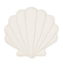 Cam Cam Sea Shell Play Mat - OCS Off-White