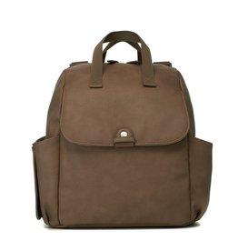 Babymel Robyn Convertible Backpack Vegan Leather Tan