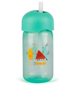 Suavinex Feeding - Booo - Straw Bottle - Green