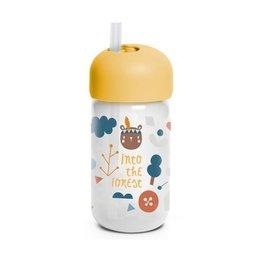 Suavinex Forest - Straw Bottle - Yellow