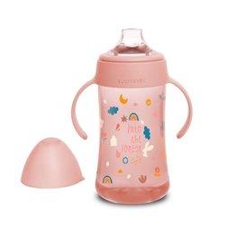 Suavinex Forest - Bottle Handles - Non Spill Spout - 270ml - Pink