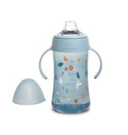 Suavinex Forest - Bottle Handles - Non Spill Spout - 270ml - Blue