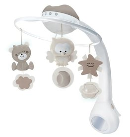 Infantino WOM - Musical 3 in 1 projector mobile - Grey