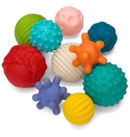Infantino Main - Textured multi ball set (10pcs)