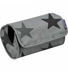 Dooky Arm Cushion - Grey stars