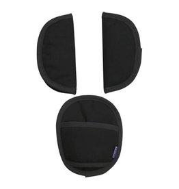 Dooky Universal Seat Belt Pads - Black