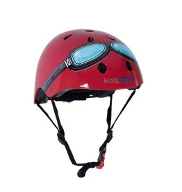 KiddiMoto Helmet - Goggle - Red - M