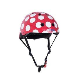 KiddiMoto Helmet - Dotty - Red - S