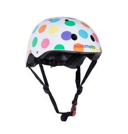 KiddiMoto Helmet - Pastel Dotty - S
