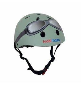 KiddiMoto Helmet - Goggle - Pastel Green - S