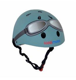 KiddiMoto Helmet - Goggle - Pastel Blue - S