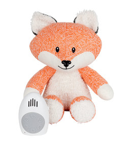 Flow Hartslag comforter - Robin the fox - oranje