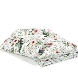 La millou Bedding with filling toddler L - Wild Blossom/Forest Blossom