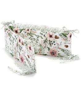 La millou Bed Bumper - Wild Blossom/Forest Blossom