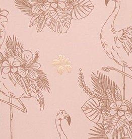 Little Adventure Mutsje Flamingo Gold