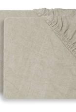 Jollein Aankleedkussenhoes Badstof 50x70cm - Nougat - 2 Stuks