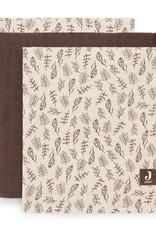 Jollein 3 hydrophilic multi cloth small Meadow Chestnut 70x70 cm