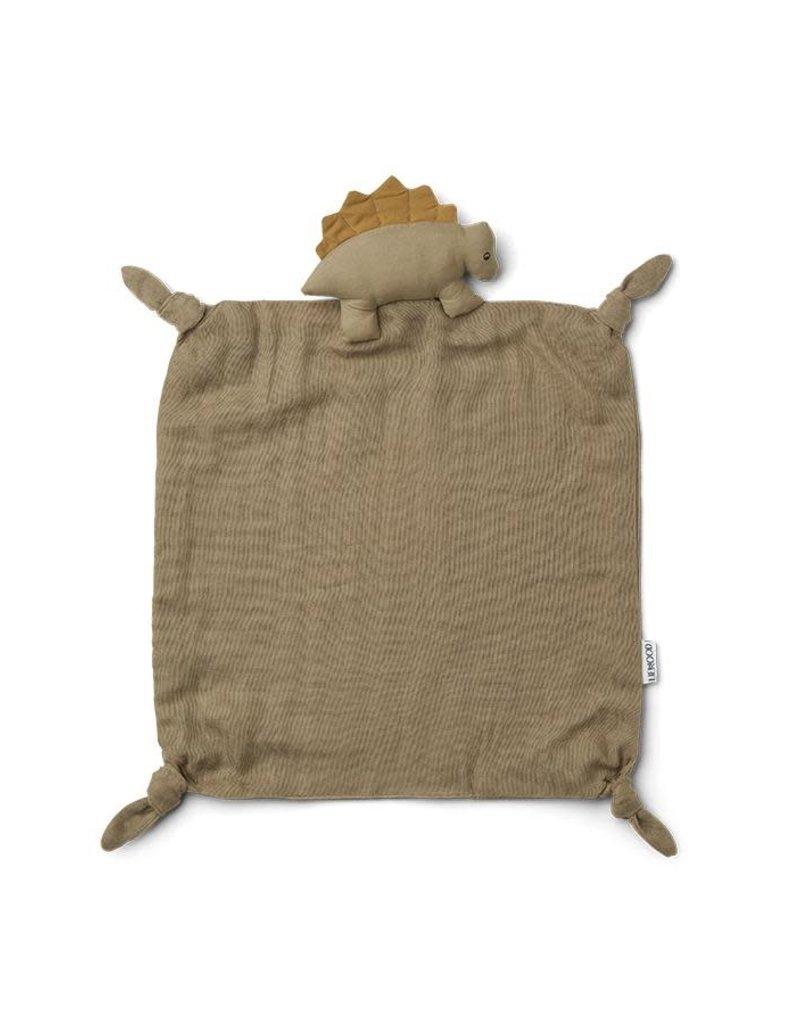 Liewood Agnete Cuddle Cloth - Dino Oat