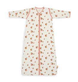 Jollein Sleeping Bag 70 cm Peach With Removable Sleeves
