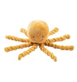 Nattou Knuffel Octopus Oker