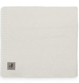 Jollein Wieg Deken River Knit 75x100cm - Cream White