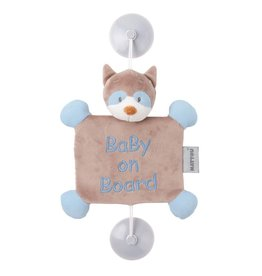 Nattou Baby on board Bob le raton laveur
