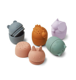 Liewood Gaby bath toys multi mix - 5 pack
