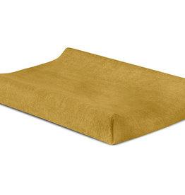 Jollein Aankleedkussenhoes Badstof 50x70cm - Mustard
