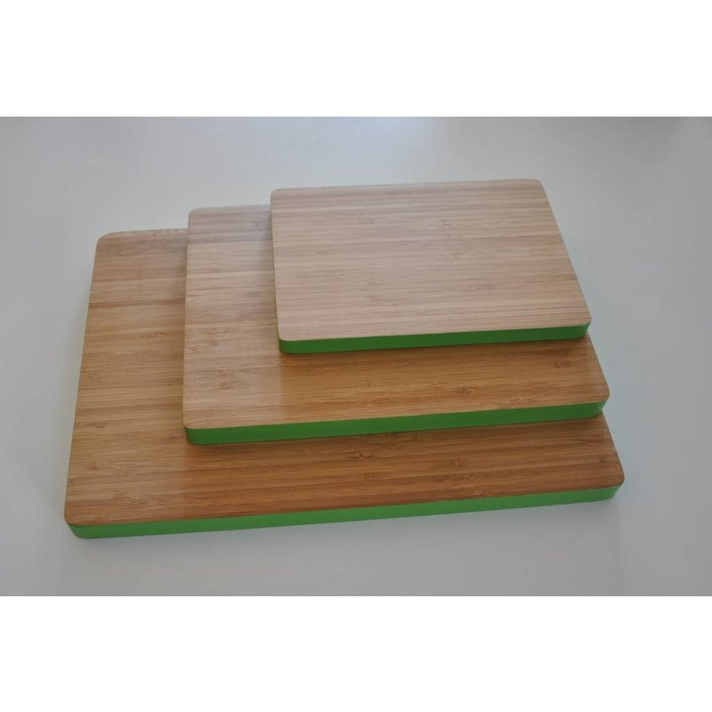 Set Bamboe Snijplanken Groen
