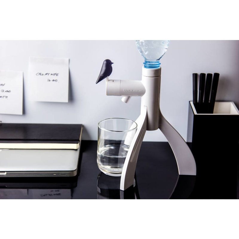 Waterdispenser Thirsty Bird Zwart