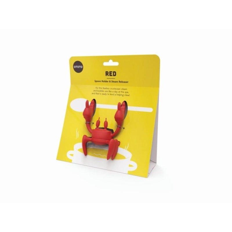 Red, deze handige krab houdt je pollepel vast!