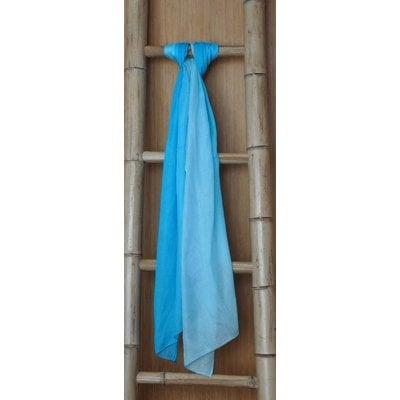 Bamboe Zomersjaal Turquoise