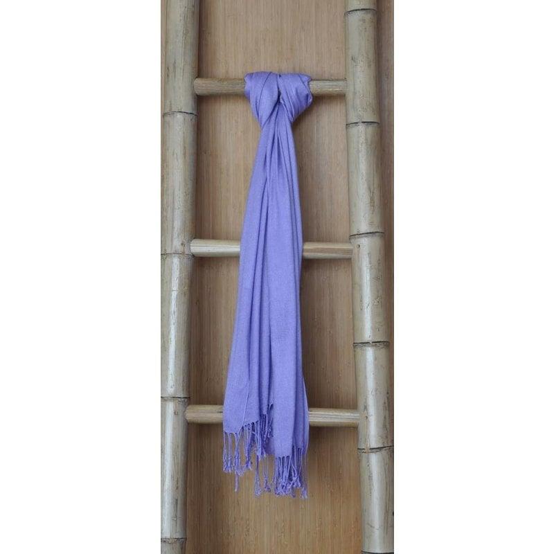Bamboe Sjaal Lila