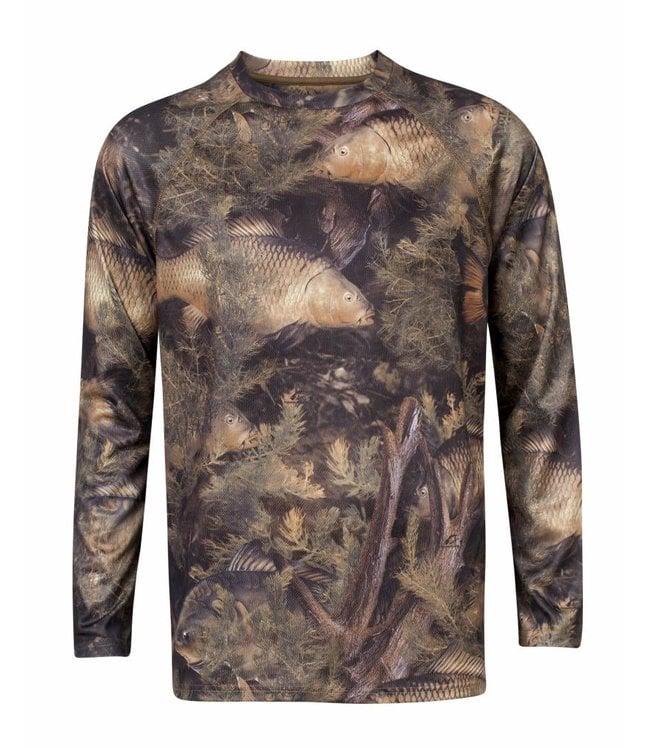 Fishouflage Carp Long Sleeve Shirt