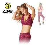 "Zumba V Bra ""All Day"" - Pink"