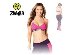 "Zumba Bra ""Never Stop Dancing"" - Pink"