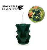 Stackable Planter 3 pcs. Dark Green