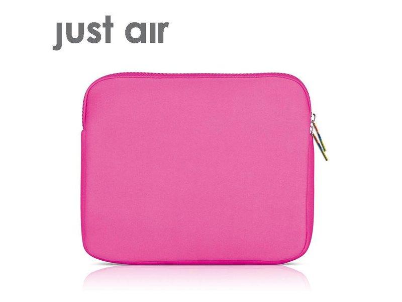 Ipad Case Just Air Neoprene Pink