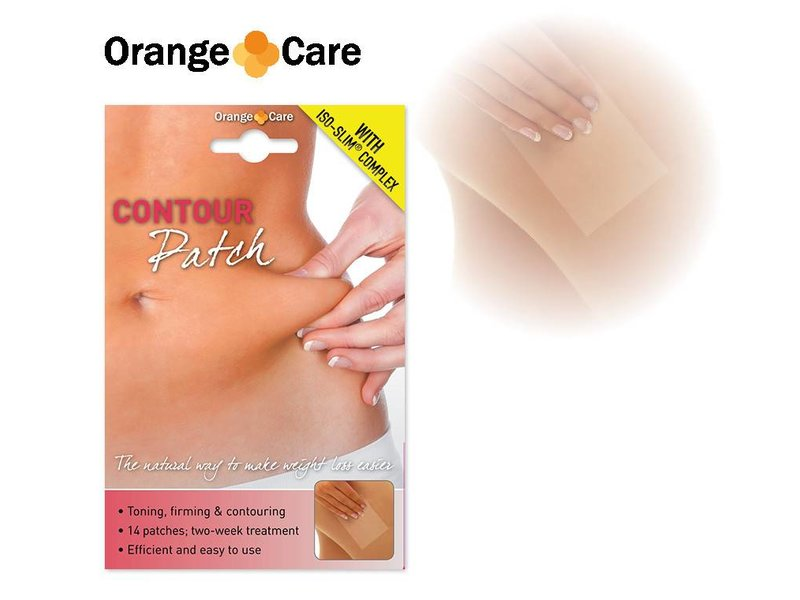 Orange Care Contour Patch
