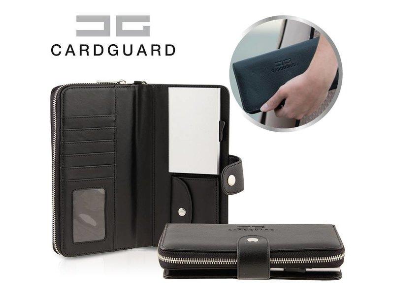 Card Guard Wallet Women - Black