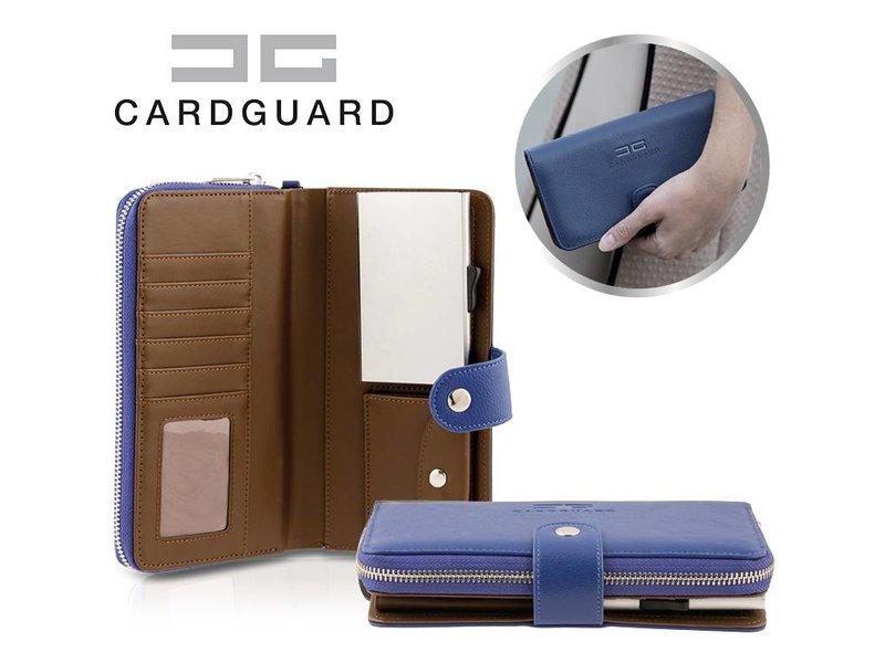 Card Guard Wallet Women - Blue