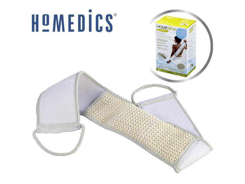 Homedics Massaging Shower Exfoliator