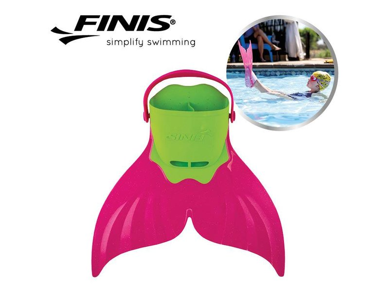 Finis Mermaid Swim Fin - Pacific Pink