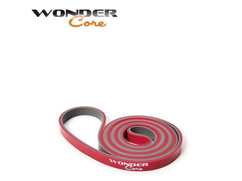 Wonder Core Pull Up Band - 1,3 cm - Pink/Gray