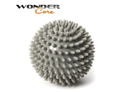 Wonder Core Spiky Massage Ball - 9 cm - Grey