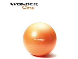 Wonder Core Anti-Burst Gym Ball - 55 cm - Orange