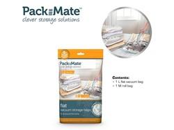 Packmate Vacuum Flat Bag Set 2 pcs M+L