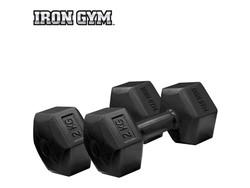 Iron Gym 2kg x 2 Fixed Hex Dumbbell