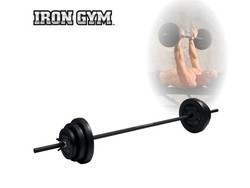 Iron Gym 20kg Adjustable Barbell Set